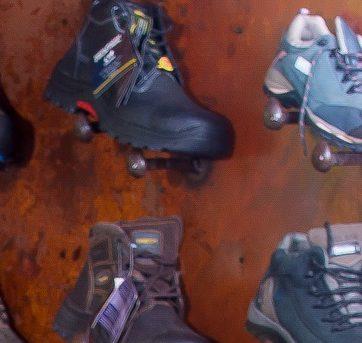 Persönliche Schutzausrüstung (PSA) –– Fußschutz für den Arbeitsschutz